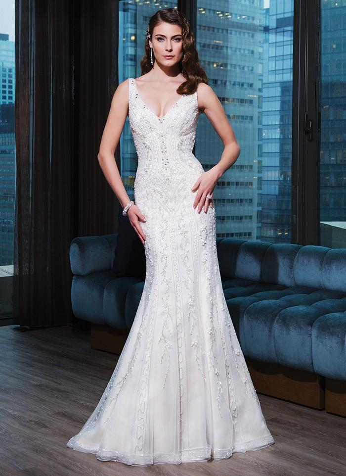 vestido de novia, ¿con o sin volumen?