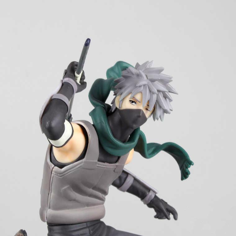 Japanese Anime Naruto Anbu Hatake Kakashi Pvc Action Figure Toy Doll Model Retail Collectible 23cm In-stock Items Kids Toys(China (Mainland))
