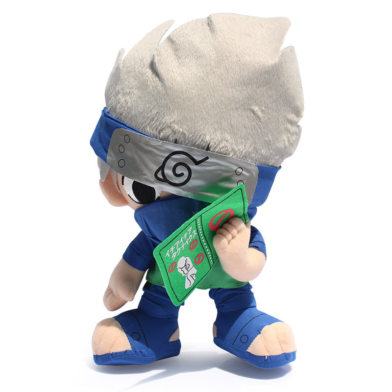 Anime Cartoon Naruto Plush Toys Naruto Hatake Kakashi Giant Pluh Soft Toys & Hobbies(China (Mainland))