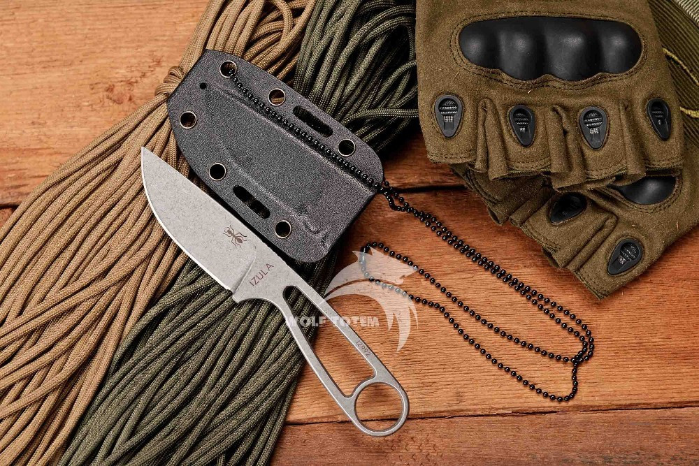 Buy WTT Ant Small Fixed Blade Knife D2 Blade Stainless Steel Handle Combat Tactical Knife Outdoor Camping Multi Knives Rescue Tools cheap