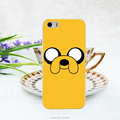 1pcs lot Adventure Time Jake the dog hard white Case for iphone 5 5s 4 4g