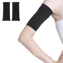 Stylish 2016 Black slimming arm Belt shape your arm beauty arms Burning arm fat for adults Free shipping(China (Mainland))