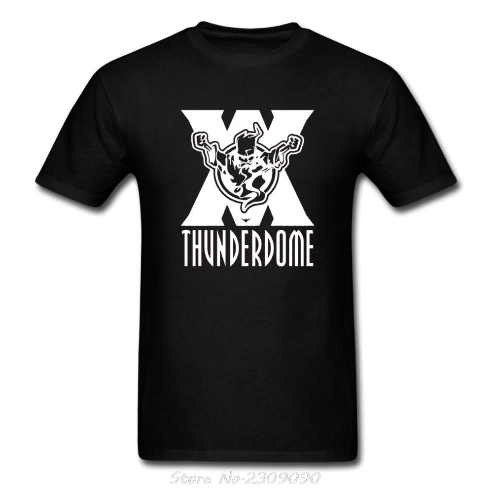 Wholesale thunderdome wizard logo t shirt hardcore techno for Bulk t shirts with logo