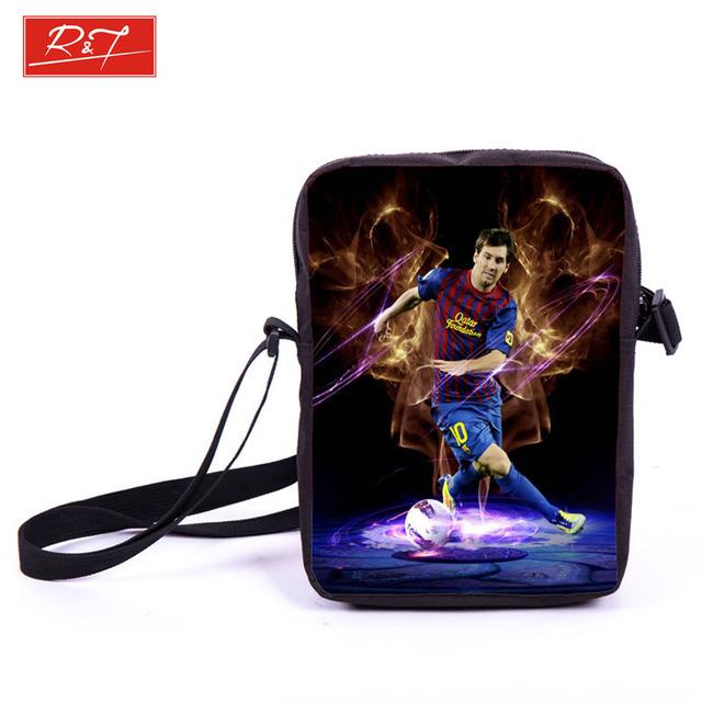 Футбольная звезда месси Neymar суарес спортивная сумка дети футбол сумки для мальчиков ...