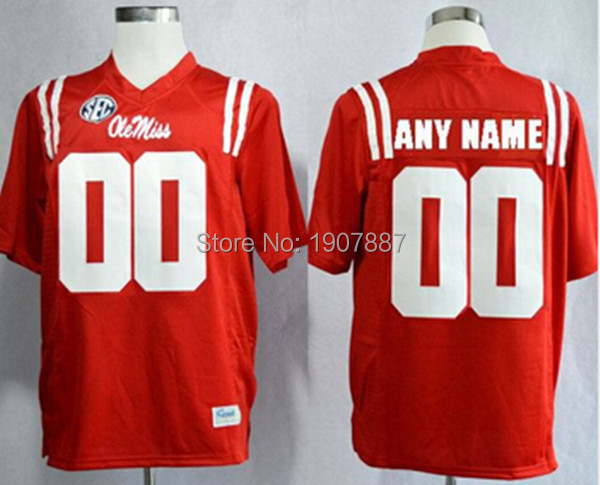 personalized ole miss jersey