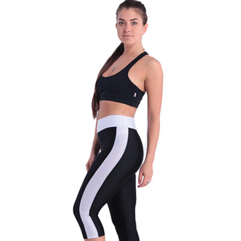2017 Women New Fashion Leggings Pencil Pants ladies Leggings candy color high waist Short Legging Capri Workout Women Leggings