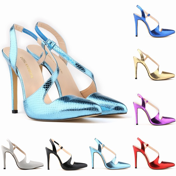 Summer thin pointed toe high heels women sandals factory direct sales woman pumps shoes