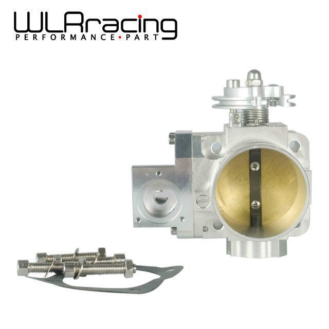 WLR STORE- NEW THROTTLE BODY FOR EVO 4G63 70mm CNC Intake Manifold Throttle Body evo7 evo8 evo9 4g63 turbo WLR6948(China (Mainland))