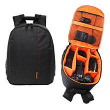 Free Shipping Waterproof DSLR Camera Lens Backpack Case Bag for Canon for Nikon for Sony OD#S