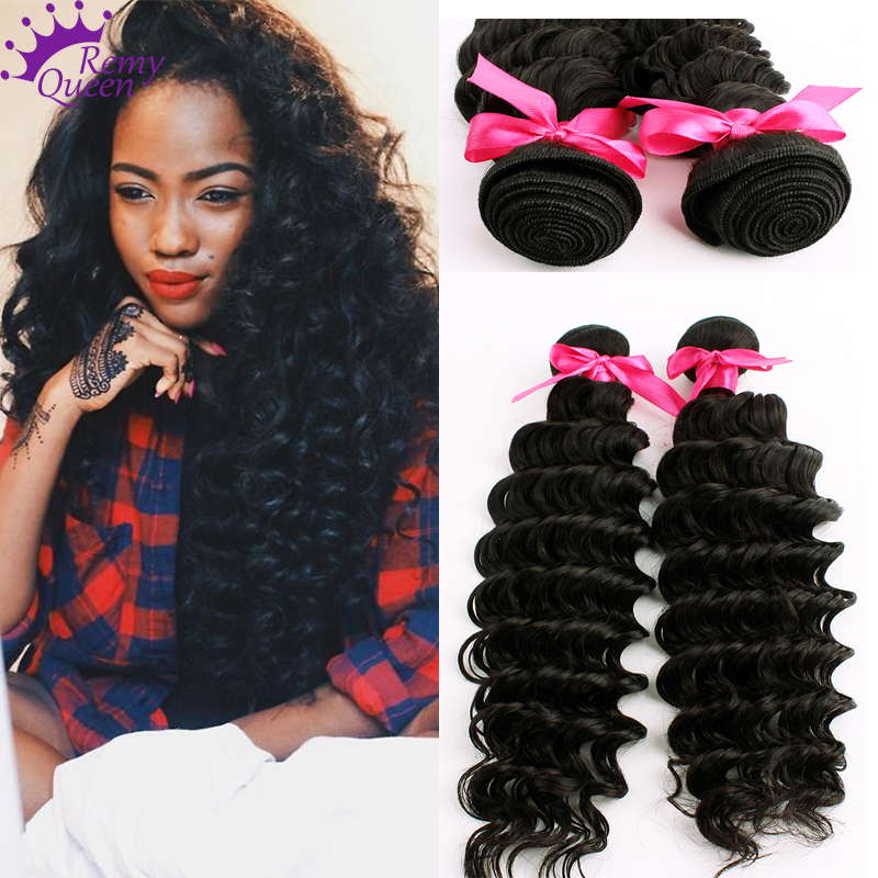 Brazilian Deep Wave Virgin Hair 2Pcs Lot Free Shipping Wet And Wavy Virgin Brazilian Deep Wave Virgin Hair Human Hair<br><br>Aliexpress