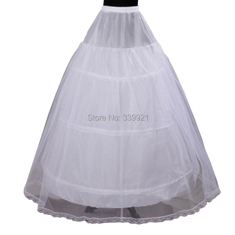 2 layer 3 Hoop Elastic Waist Bridal Gown Drawstring Dress Petticoat Underskirt Crinoline Wedding - Golden jubilee wedding dresses Store store