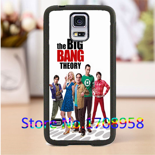 the big bang theory cell phone cover case for Samsung Galaxy S3 S4 S5 S6 S7 Note 2 Note 3 Note 4 &M#1135(China (Mainland))