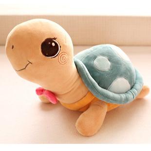New Arrival Cute Design Big Eye Turtles Stuffed Soft Plush Toy Tortoise Doll 35cm One Piece(China (Mainland))