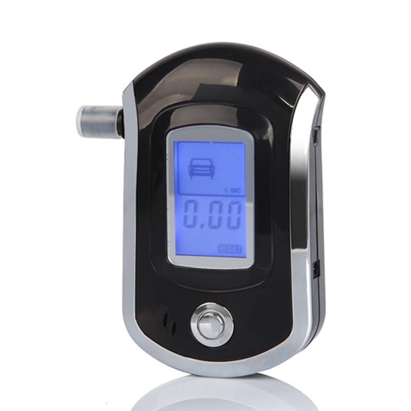10pcs Prefessional Mini Police Digital LCD Breath Alcohol Tester the Breathalyzer Dropship Parking Car Detector Gadget Meter(China (Mainland))