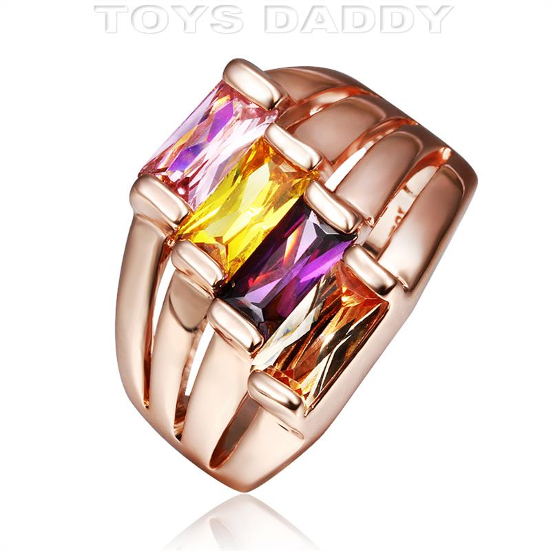 Кольцо Toys Daddy 18K anillos aneis bague femme кольцо hob 925 anillos bague tfsjr004