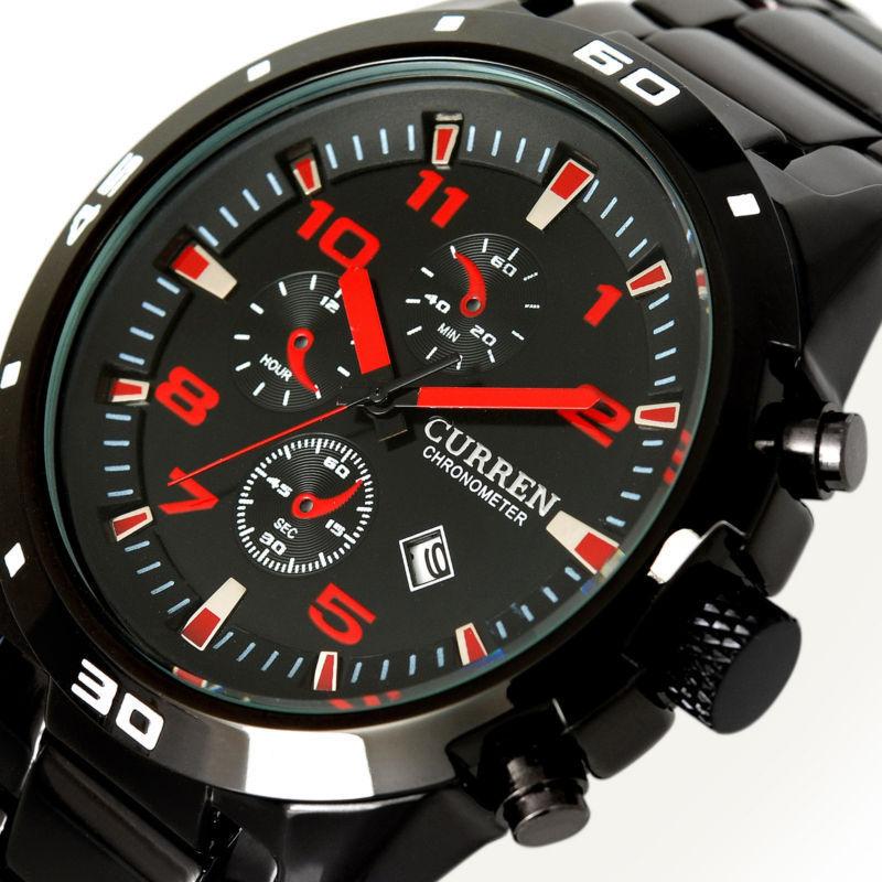 Curen Curren Relogio 2015 casual watch curren men curren 2015 relogio watch 8082