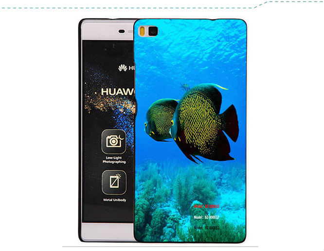 Original HUAWEI P8 clamshell smart leather case for 5.2inch 3gbram 64gbrom HUAWEI P8 octa core 4G TDD-LTE/FDD-LTE smartphone(China (Mainland))