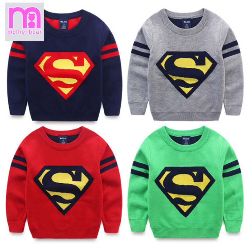 New Arrive Baby Boys Sweaters Autumn Winter Fashion Kniteed Cotton 3-8 Years Children Sweater Handsome Pattern Kids Pullovers(China (Mainland))
