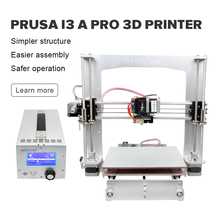 Newest Geeetech High Precision Impressora Reprap Prusa i3 A Pro 3D Printer DIY Kit LCD Power Supply Main Board In One Box
