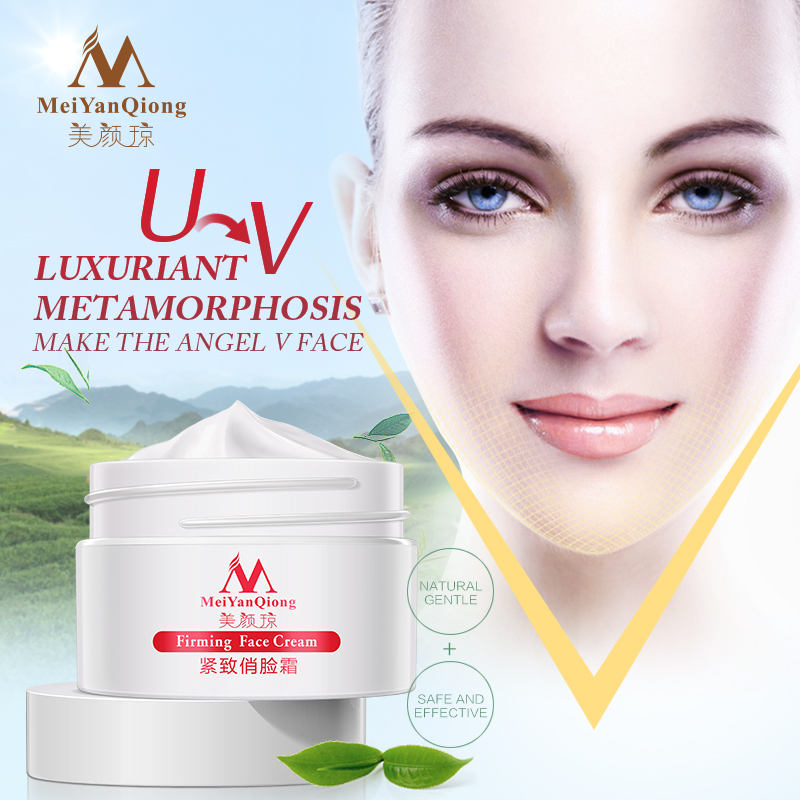Face lifting 3D Cream Facial Lifting Firm Skin Care firming powerful V-Line Face Care slimming Cream lifting shaping Product(China (Mainland))