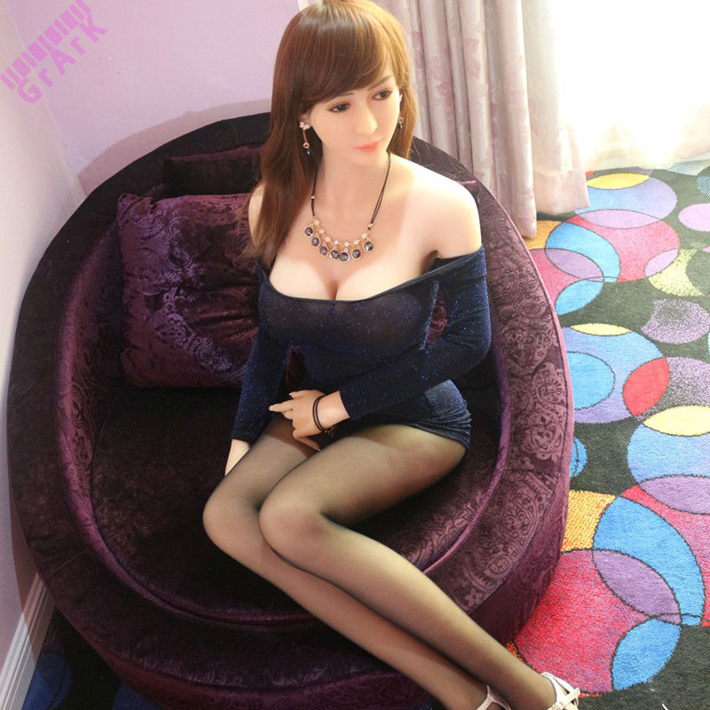 158cm Japanese real full silicone lifelike oral sex dolls Built-in Skeleton,Realistic solid silicone female sex love doll(China (Mainland))