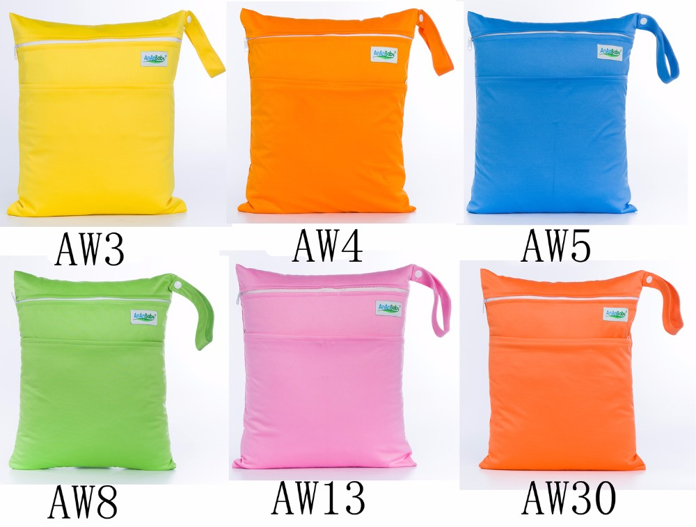 Plain color wet bags