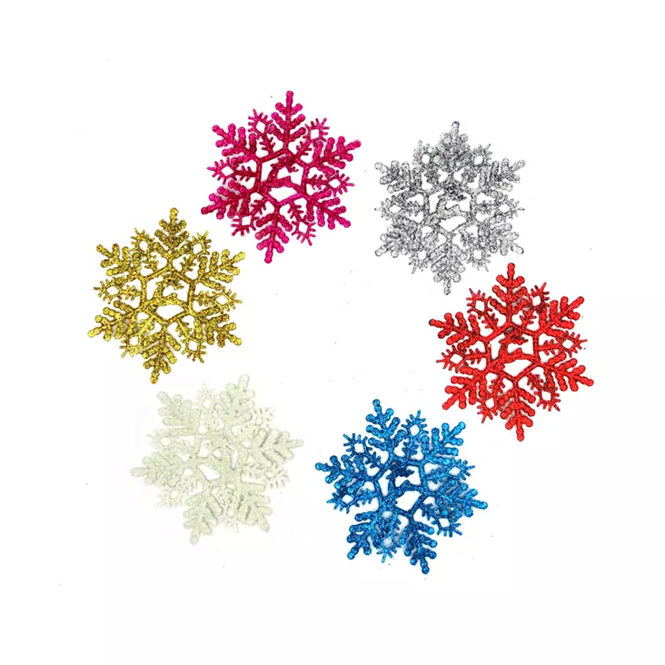Christmas Tree Ornaments Color : Aliexpress buy free shipping pcs color snowflake