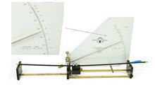 12pcs 32 Inch 82cm Spine 500 Blue White Target Practice Steel Point Archery Fiberglass Arrows for