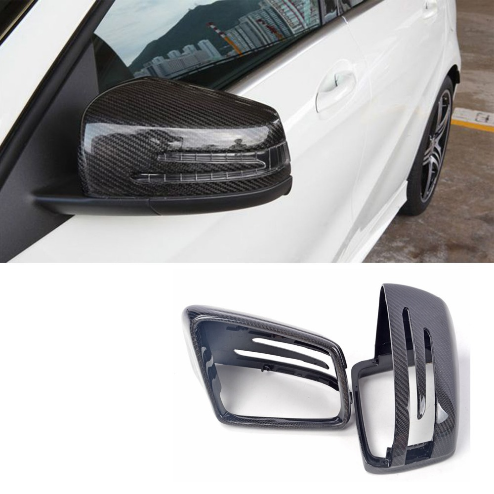 W212 carbon fiber replace car tuning side wing mirror for Mercedes benz side mirror price