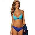 2016 New Sexy Bikini Push Up Swimwear Women Swimsuit Retro Vintage Beach Bathing Suits Swim Wear