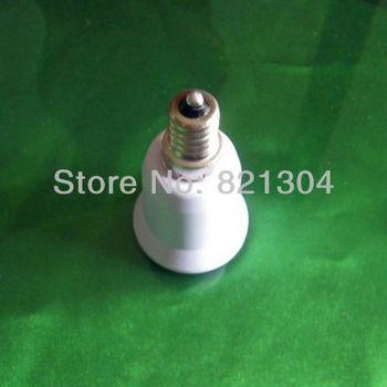 Free Shipping Wholesale 10 Pcs E14 to E27 Extend Base LED Light Bulb Lamp Adapter Converter Lamp Holder Converter