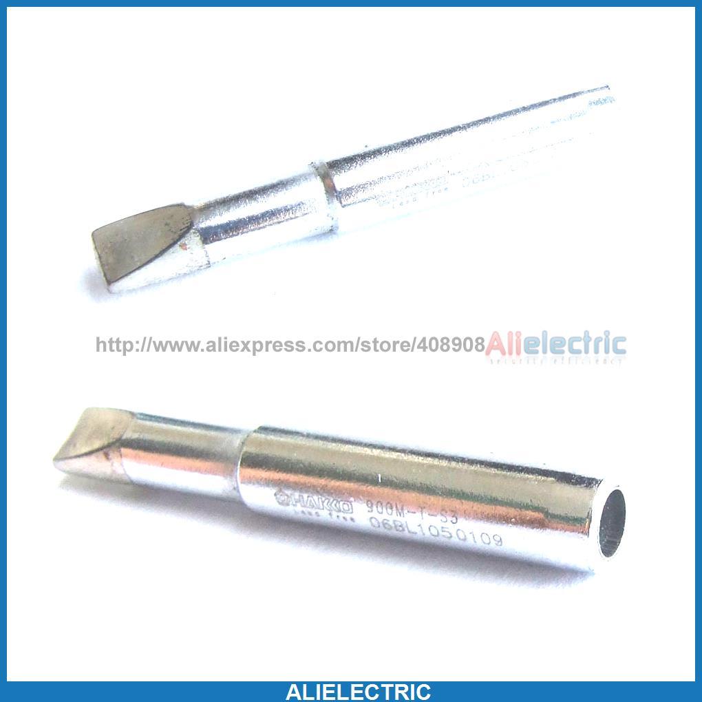 20pcs 4mm Jack Soldering Solder Leader Solder Iron Tips for Hakko 936 900M T S3<br><br>Aliexpress