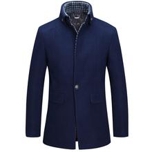 2015 winter UK style long trench coat men casual men's windbreaker fashion jacket men trench coat men outwear(China (Mainland))