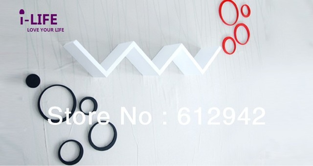 Only Wholesales 100PCS W shaped MDF floating wall shelves/shelf wall mount by ocean shipping