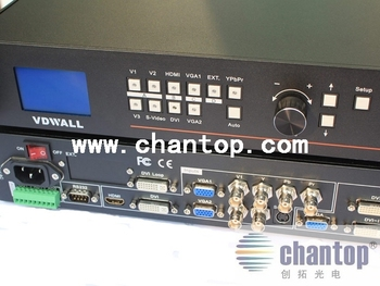 LED Video Processor  Switcher LVP605 Signal Processor System For LED Display wall
