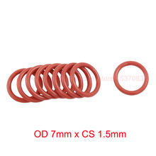 Buy OD 7mm x CS 1.5mm VMQ PVMQ SILICONE Rubber O ring O-ring Oring Seal Round Rubber Washer for $9.89 in AliExpress store