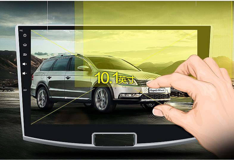 """10.1"""" android car multimedia player with 1024x600 HD digital screen for Magotan 2012-2015 for Passat CC 2012-2015 Quad core CPU(China (Mainland))"""
