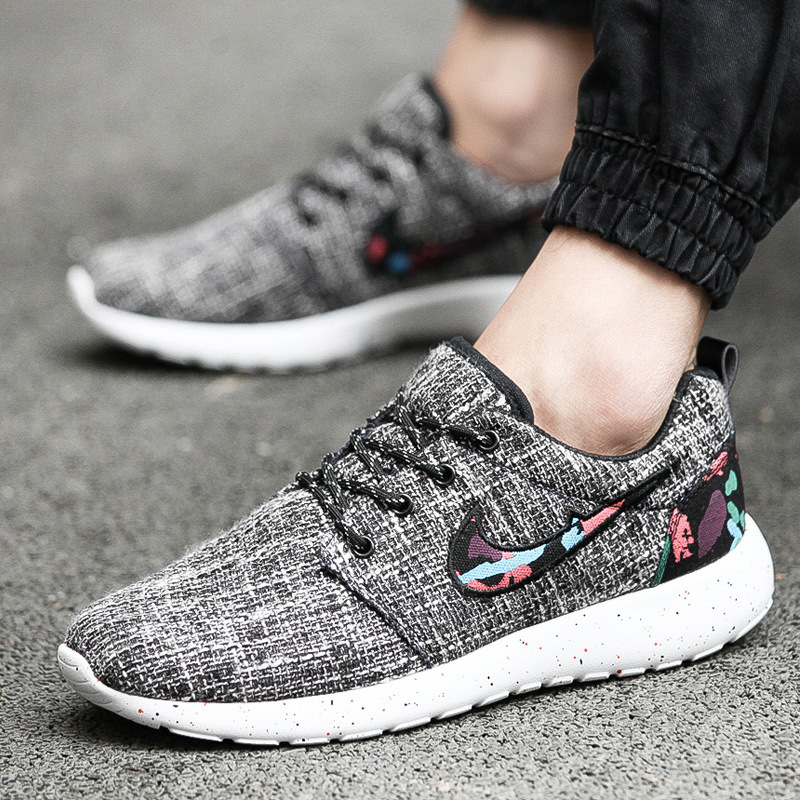 2016 Summer New Men Shoes Patchwork Printed Canvas Shoes Fashion Casual chaussures Male Breathable Flat Shoes zapatillas XX143