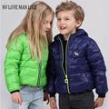 Kızlar için kızlar kış ceket parka casaco infantil menino erkek kız kış ceketler çocuk ceketleri aşağı kat bebek palto