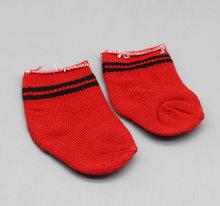 Venta caliente Popular ajuste 43 cm bebé recién nacido suave algodón muñeca calcetín accesorios para muñecas de 18 pulgadas bebé un gran regalo(China)
