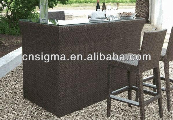 wicker bar tables 3