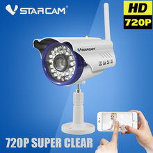Buy Vstarcam C7815WIP Bullet IP Camera Wi-Fi Wireless 720P WIFI Camera Outdoor Waterproof Onvif P2P Night Vision Surveillance Camara for $42.23 in AliExpress store