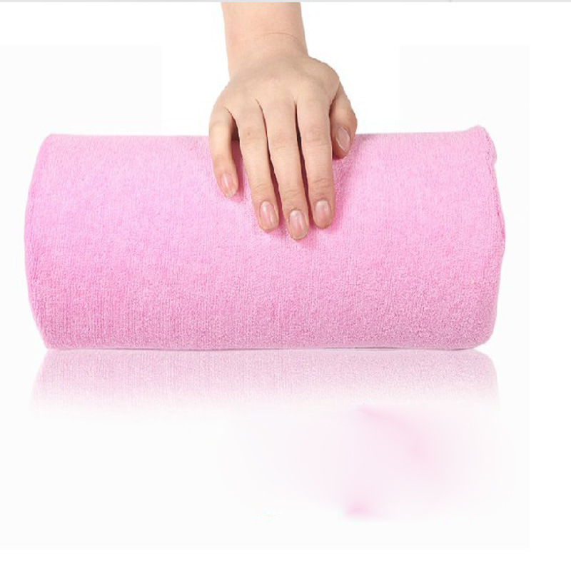 Soft Pink Nail Art Small Hand Pillow Cushion Nail Arm Rest Manicure Accessories Tool Hand Rest Cushion Pillow(China (Mainland))
