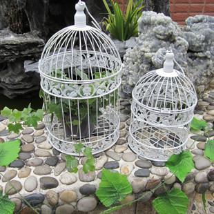 Free shipping customizable  Fashion Classic iron bird cage decorative bird cages weddings 19*35cm(China (Mainland))