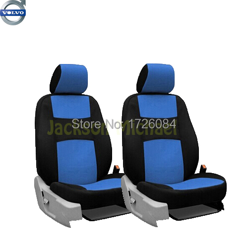 2 front seats universal car seat cover volvo s60l v40 v60 s60 xc60 xc90 xc60. Black Bedroom Furniture Sets. Home Design Ideas