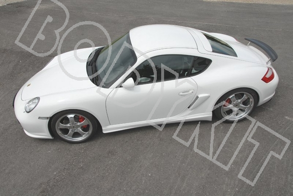06 11 Cayman Boxster 987 Side Air Intakes Vents Scoops