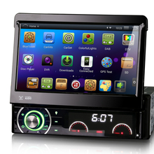 """7"""" Quad Core Android 4.4.4 OS Single Din Car DVD 1 Din Car Radio One Din Car Multimedia System with 1024*600 Resolution(China (Mainland))"""