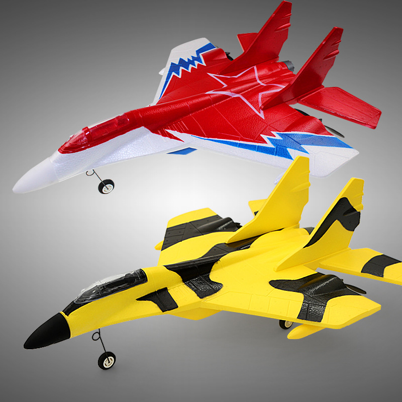 EPP Foam Mig-29 mini su-27 Fixed Wing 9085 Fighter 2.4g 500M Remote Control Aircraft the Plane Model RC Airplane WJ336(China (Mainland))