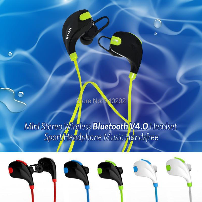 5pcs BOAS Mini Sport Wireless Headset Bluetooth 4.1 Stereo Headphones Multipoint Connection Earphone with Microphone <br><br>Aliexpress