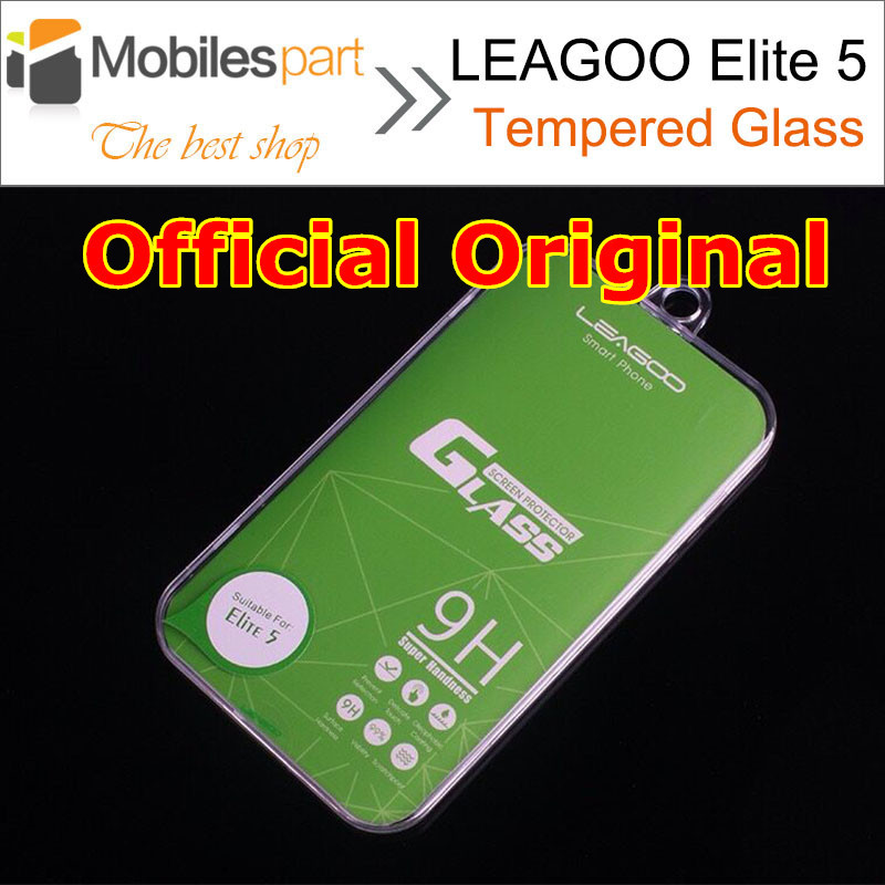 LEAGOO Elite 5 Tempered Glass 100% Official Original Screen Protector Film Phone Case for LEAGOO Elite 5 in Stock Free Shipping(China (Mainland))